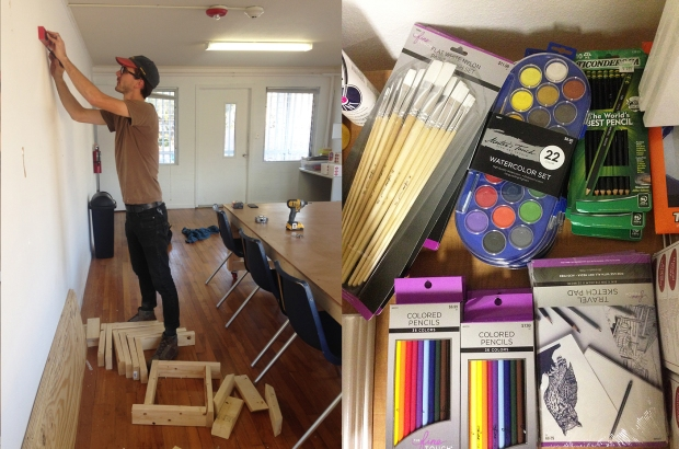MNA. MAde NEw Arts, Art Supplies, Donations, Partnership for Strong Families, Ignite Refuge