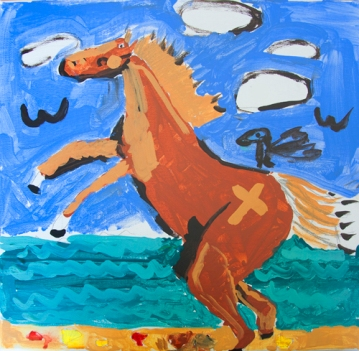 """Beach Horse"" Made New Artis: ""Trisha"""