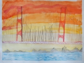 """""""The Golden Gate Bridge"""" Made New Artist: """"Amy"""""""