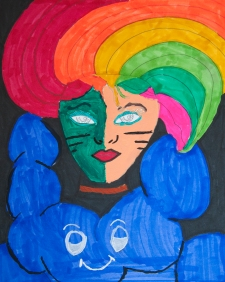 """Rainbow Girl"" Made New Artist: Marcella"
