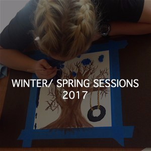MADE NEW ARTS Community program Winter Spring Session 2017 Foster Youth Art and Exhibition