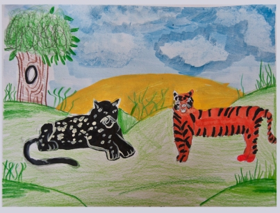 """Jungle Cats"" Made New Artist: ""Russell"""