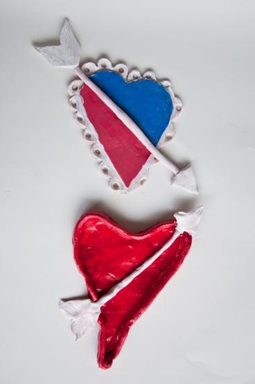 """Hearts"" Made New Artist(s): Deshawn (top) and Tina (below)"