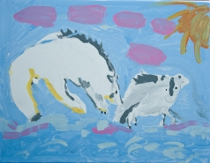 """Snow Wolves Playing"" Made New Artist: ""Trisha"""