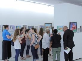 Explaining Art Piece MNA Exhibition 2017