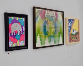 Foster Youth Art Work at the MNA Exhibition 2017