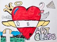 I Love Art Class MNA DJJ Program