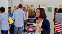Reporter at the MNA Exhibition 2017